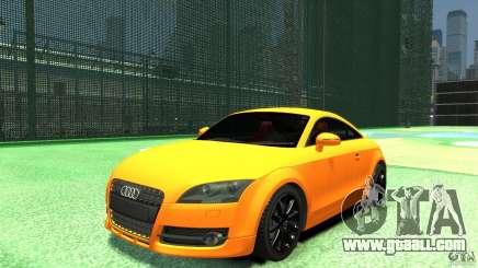 Audi TT Stock 2007 for GTA 4