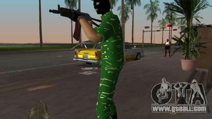 AK-74U for GTA Vice City