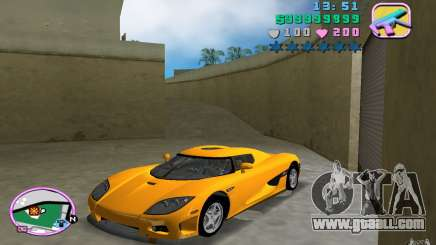 Koenigsegg CCX for GTA Vice City