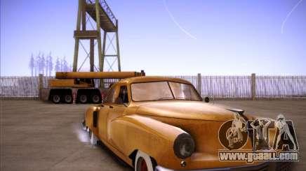 Walker Rocket for GTA San Andreas