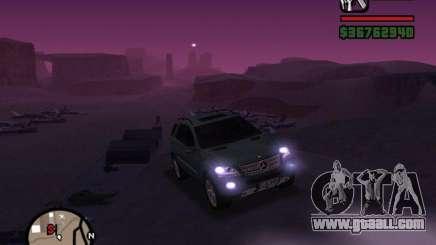 Mercedes-Benz ML 500 for GTA San Andreas