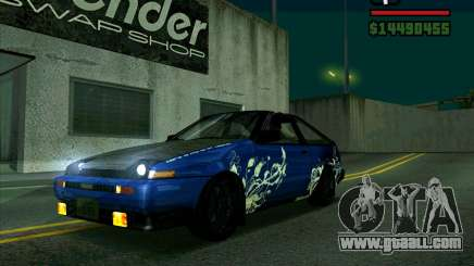 Toyota Trueno AE86 V3.0 for GTA San Andreas