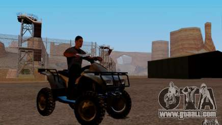 Quadbike from BF 3 for GTA San Andreas