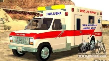 Ford Econoline Ambulance for GTA San Andreas