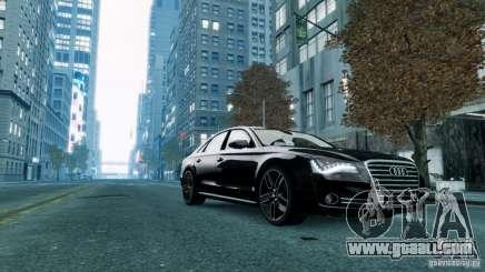 Audi A8 LED 2012 for GTA 4