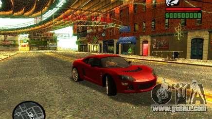 Lotus Europe S for GTA San Andreas