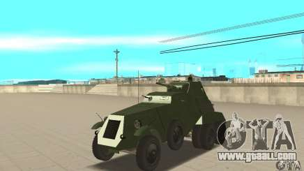 BTR BA-11 for GTA San Andreas