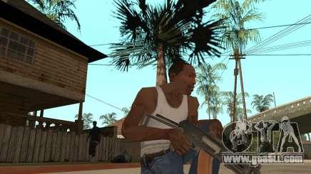 AK74U for GTA San Andreas