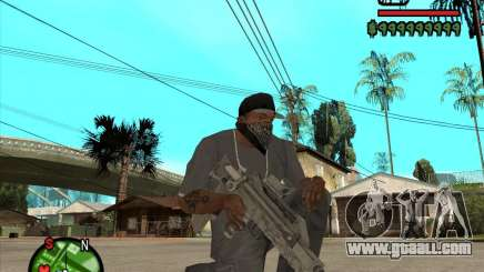 Famas of CoD Black Ops for GTA San Andreas