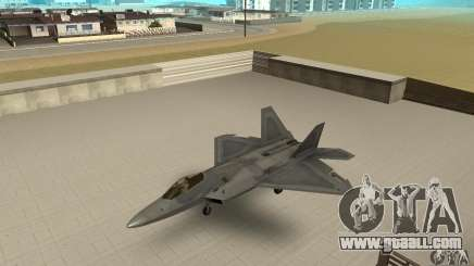 F-22 Grey for GTA San Andreas