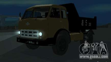 MAZ 503a dump truck for GTA San Andreas