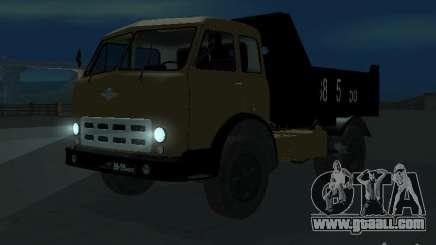 MAZ 503a dump truck for GTA San Andreas