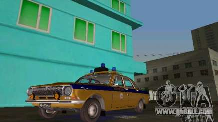 Gaz-24 Militia for GTA Vice City