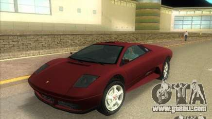 Infernus from GTA IV for GTA Vice City