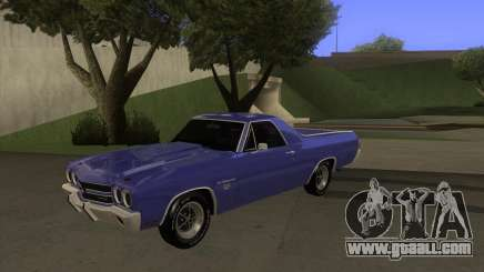 Chevrolet El Camino SS 1970 for GTA San Andreas