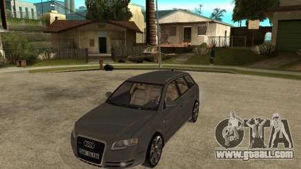 Audi A4 2005 Avant 3.2 quattro for GTA San Andreas