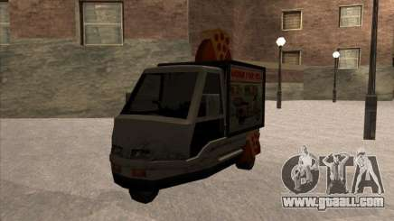 Sweeper Pizza Boy for GTA San Andreas
