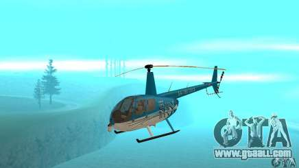 Robinson R44 Raven II NC 1.0 TV for GTA San Andreas