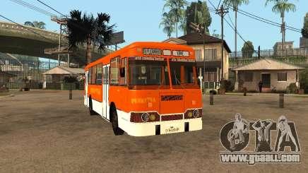 LIAZ-677 (Café moment) for GTA San Andreas