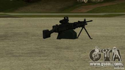 M240 for GTA San Andreas