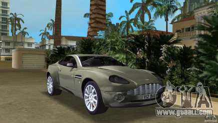 Aston Martin V12 Vanquish 6.0 i V12 48V for GTA Vice City