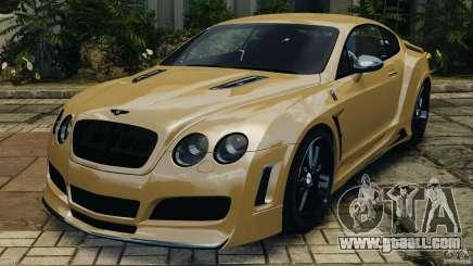 Bentley Continental GT Premier v1.0 for GTA 4