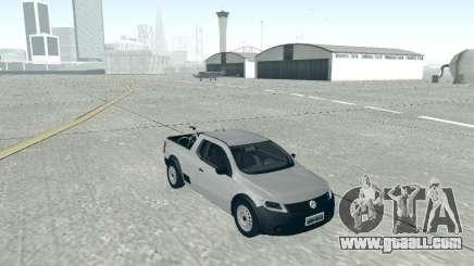 Volkswagen Saveiro 1.6 2009 for GTA San Andreas