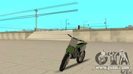 Kawasaki KX250 for GTA San Andreas