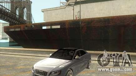 Audi S5 V8 custom 2008 for GTA San Andreas