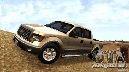 Ford F150 XLT SuperCrew 2010 for GTA San Andreas