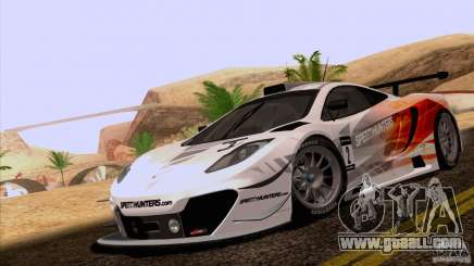 McLaren MP4-12C Speedhunters Edition for GTA San Andreas