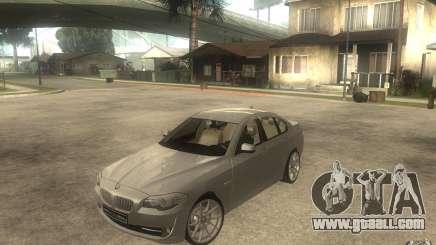 BMW 550i F10 for GTA San Andreas