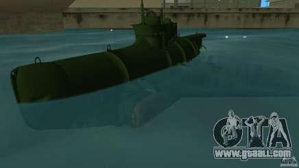 Seehund Midget Submarine skin 1 for GTA Vice City
