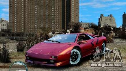 Lamborghini Diablo SV 1997 EPM v.2.3 for GTA 4