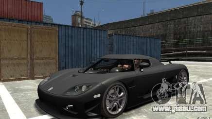 Koenigsegg CCXR Edition V1.0 for GTA 4
