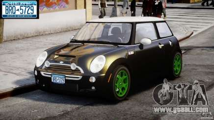 Mini Cooper S 2003 v1.2 for GTA 4