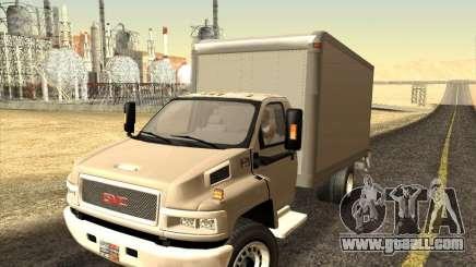 GMC 5500 2001 for GTA San Andreas