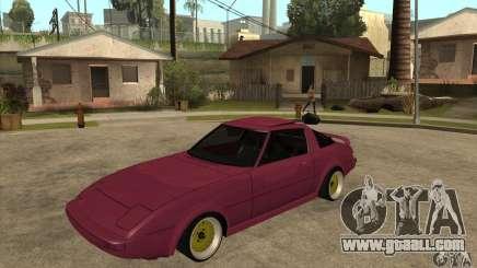 Mazda RX7 SA22C for GTA San Andreas