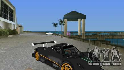 Pagani Zonda R for GTA Vice City
