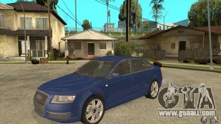Audi S6 Limousine V1.1 for GTA San Andreas