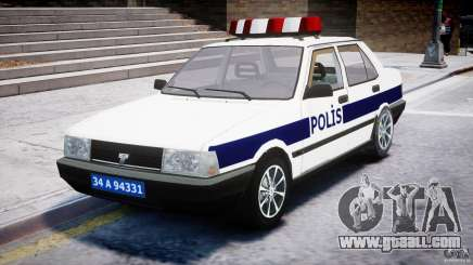 Tofas Sahin Turkish Police v1.0 for GTA 4