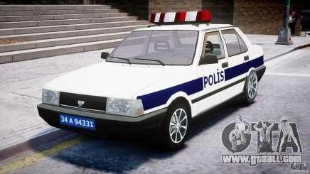 Tofas Sahin Turkish Police v1.0 for GTA 4