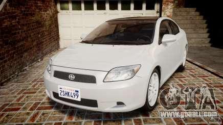 Toyota Scion tC 2.4 Stock for GTA 4