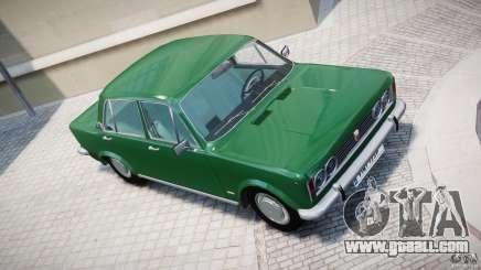 Fiat 125p Polski 1970 for GTA 4
