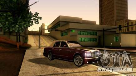 Bentley Arnage R 2005 for GTA San Andreas