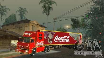KAMAZ 54112 Christmas for GTA San Andreas