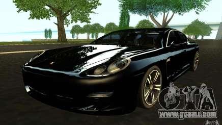 Porsche Panamera Turbo for GTA San Andreas