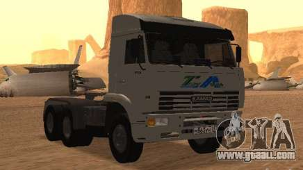 KAMAZ 6460 for GTA San Andreas
