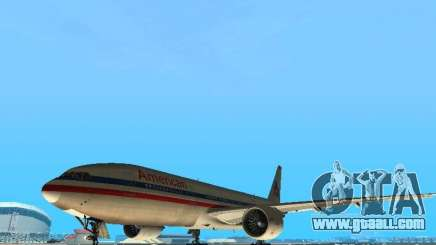 Boeing 777-200 American Airlines for GTA San Andreas