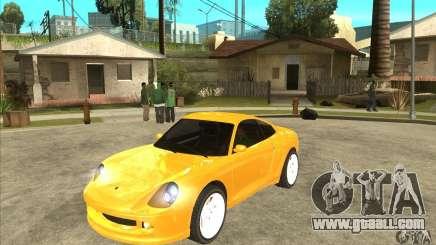 GTA IV Comet for GTA San Andreas